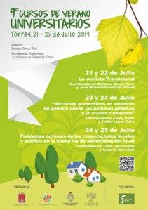 Cursos de Verano Torres 2014