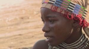 miembro de la tribu Hadzabe